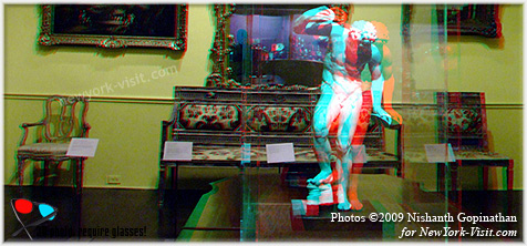 3D Anaglyph The Metropolitan Museum of Art