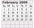 Events Calender February 2012 New York City