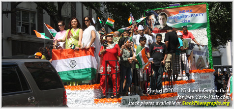 India Day Parade New York City 2011