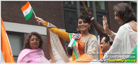 Rani Mukherji at India Day Parade New York City 2011
