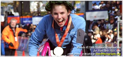 Amanda McGrory New York City Marathon 2006