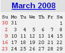 Events Calender March 2008 New York City