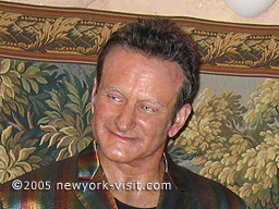 Robin Williams at Madame Tussauds ~ also included are such notables as Babe Ruth, Janis Joplin, Charlie Chaplin, The Beatles, Marilyn Monroe, John Wayne, and Neil Armstrong, among others.