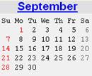 Events Calender September 2008 New York City