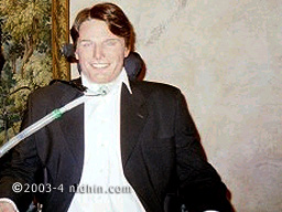 Christopher Reeve at Madame Tussauds ~ Also included are such notables as Babe Ruth, Janis Joplin, Charlie Chaplin, The Beatles, Marilyn Monroe, John Wayne, and Neil Armstrong, among others.