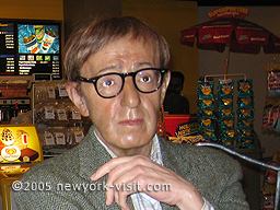 Woddy Allen at Madame Tussauds ~ also included are such notables as Babe Ruth, Janis Joplin, Charlie Chaplin, The Beatles, Marilyn Monroe, John Wayne, and Neil Armstrong, among others.