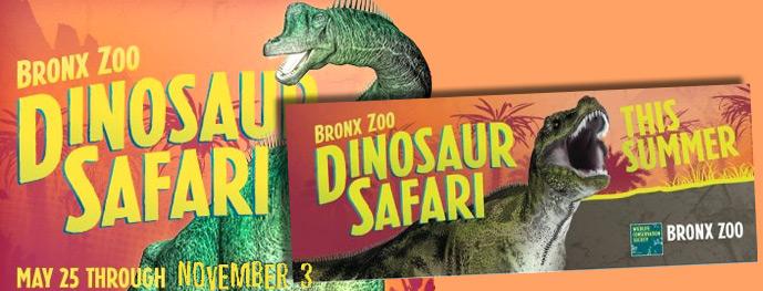 Dinosaur Safari at the Bronx Zoo