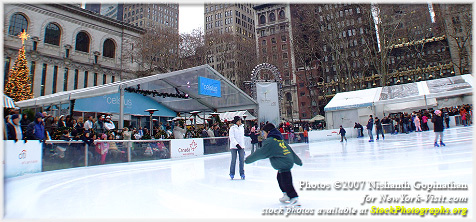Ice Skating at Rockefeller Center 2007