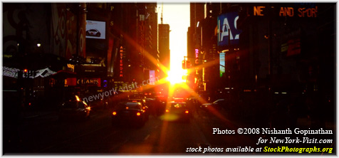 Manhattanhenge 2007 New York City