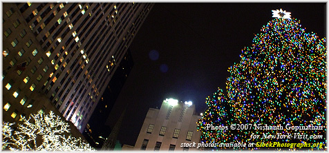 Rockefeller Center Tree Lighting 2007