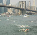 Brooklyn Bridge Swim in New York City