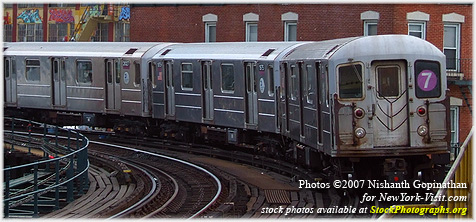MTA Subway train