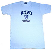 NYPD Sleep Shirt - Light Blue