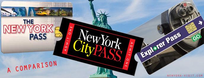 New York Pass Comparison - New York Pass, City Pass or Explorer Pass