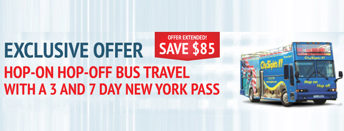 New York Pass Savings on Sightseeing Bus Tours