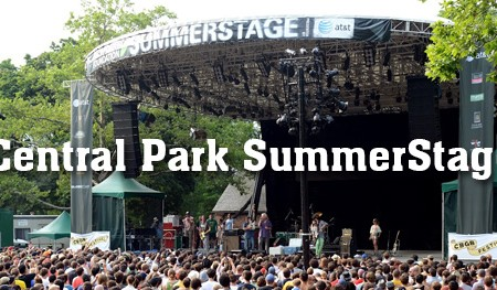 Central Park Summerstage 2014