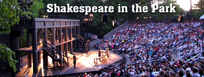 Shakespeare in the Park Summer 2014