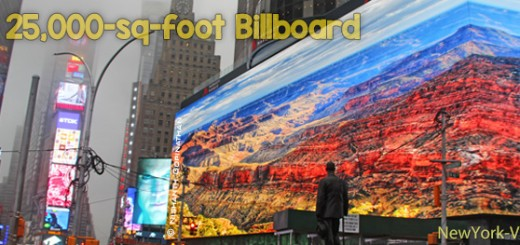 Giant Billboard in Times Square