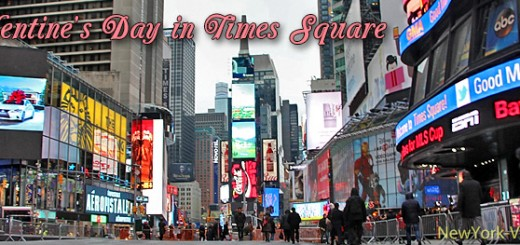 Celebrate Valentine's Day in Times Square NYC New York City