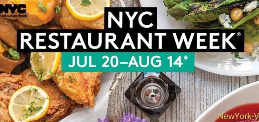 Summer NYC Restaurant Week 2015
